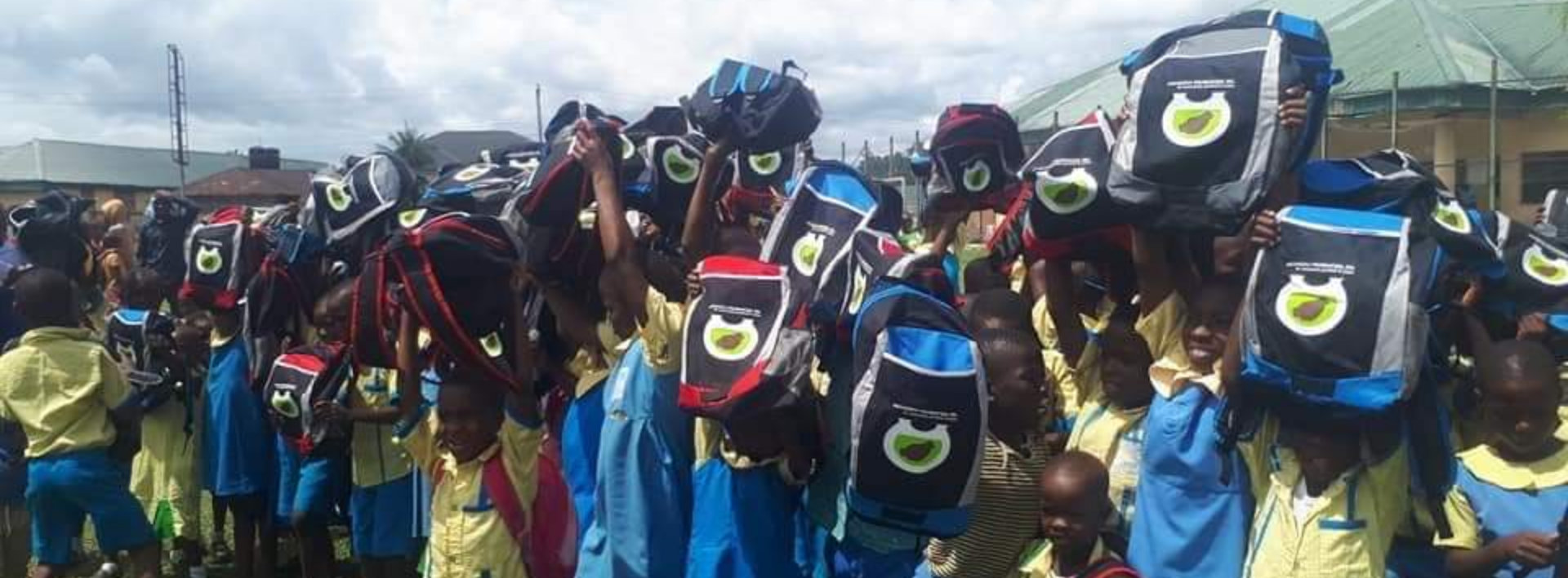 kids holding school bags